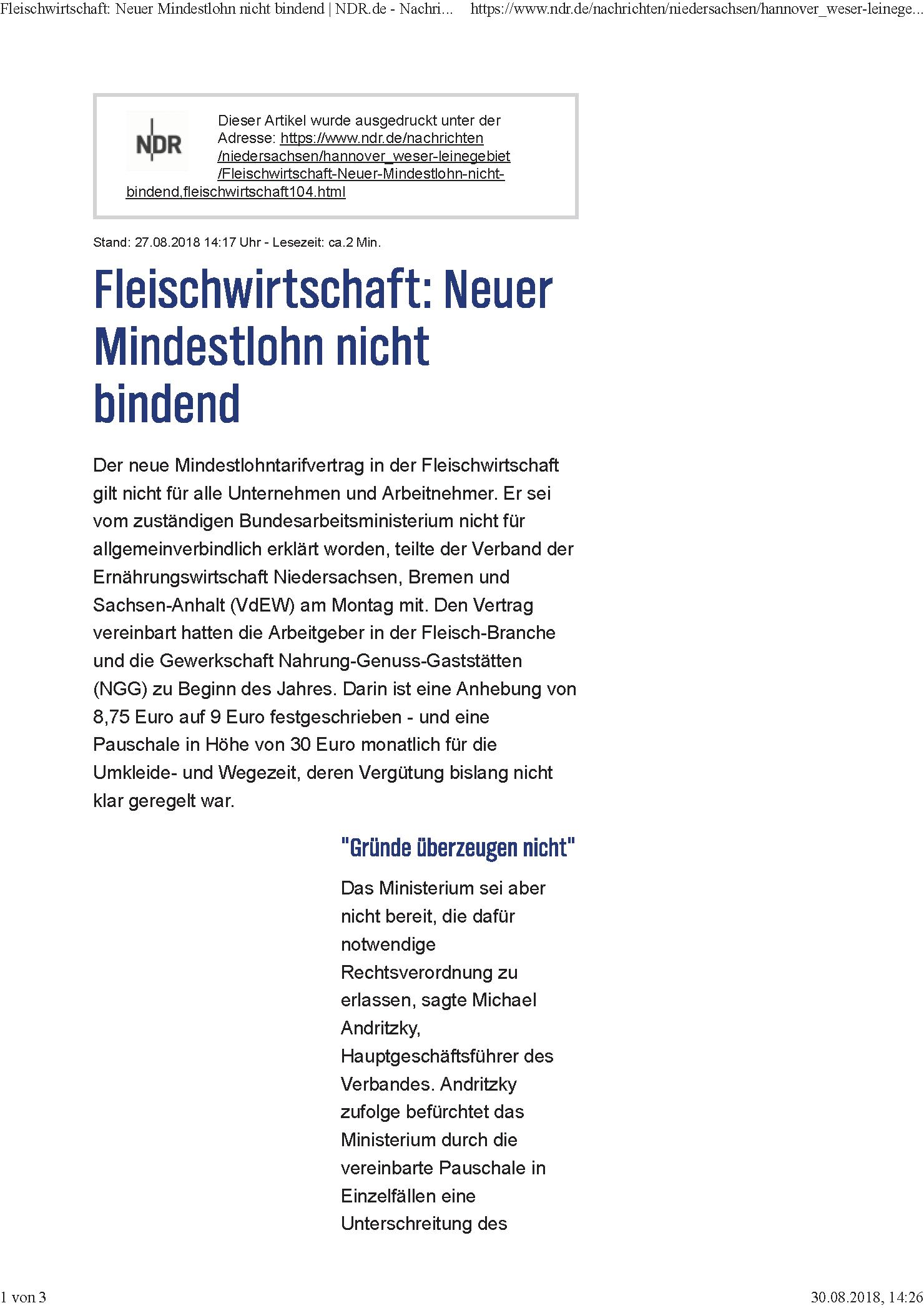 NDR 27.08.2018 Fleischwirtschaft Neuer MiLO nicht bindend_Seite_1