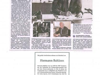 Hermann Bahlsen verstorben