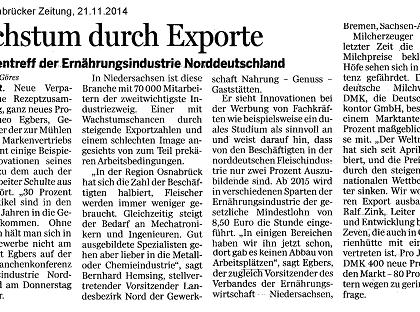 Wachstum durch Exporte